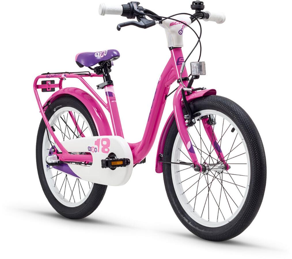 s'cool niXe 18 3-S Børnecykel alloy pink   Find cykeltilbehør på nettet   Bikester.dk